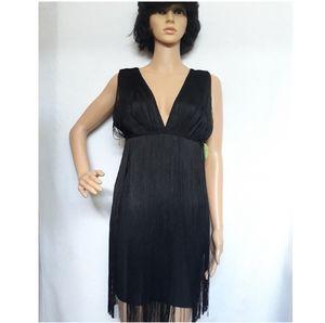 Fringe Bandage Dress
